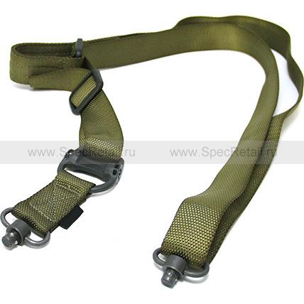 Ремень оружейный двухточечный MS4 Dual QD (Olive)