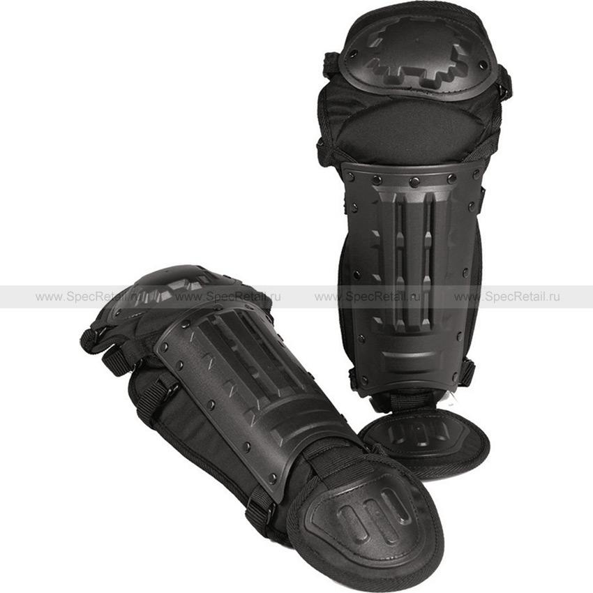 Защита колена и голени Anti-Riot Mil-Tec (Black)