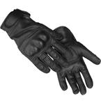 Перчатки тактические (Mil-Tec), кожаные (Black)
