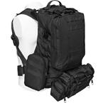 "Тактический рюкзак ""3 Day Assault Tactical Backpack"" 50 литров (Black)"