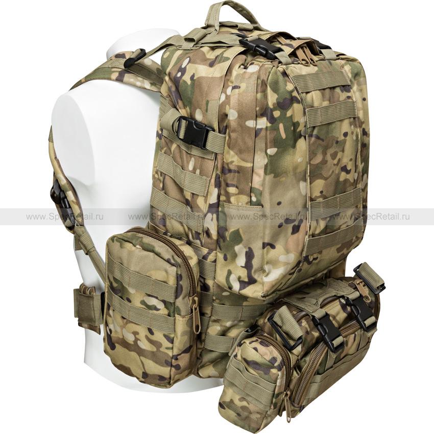"Тактический рюкзак ""3 Day Assault Tactical Backpack"" 50 литров (Multicam)"