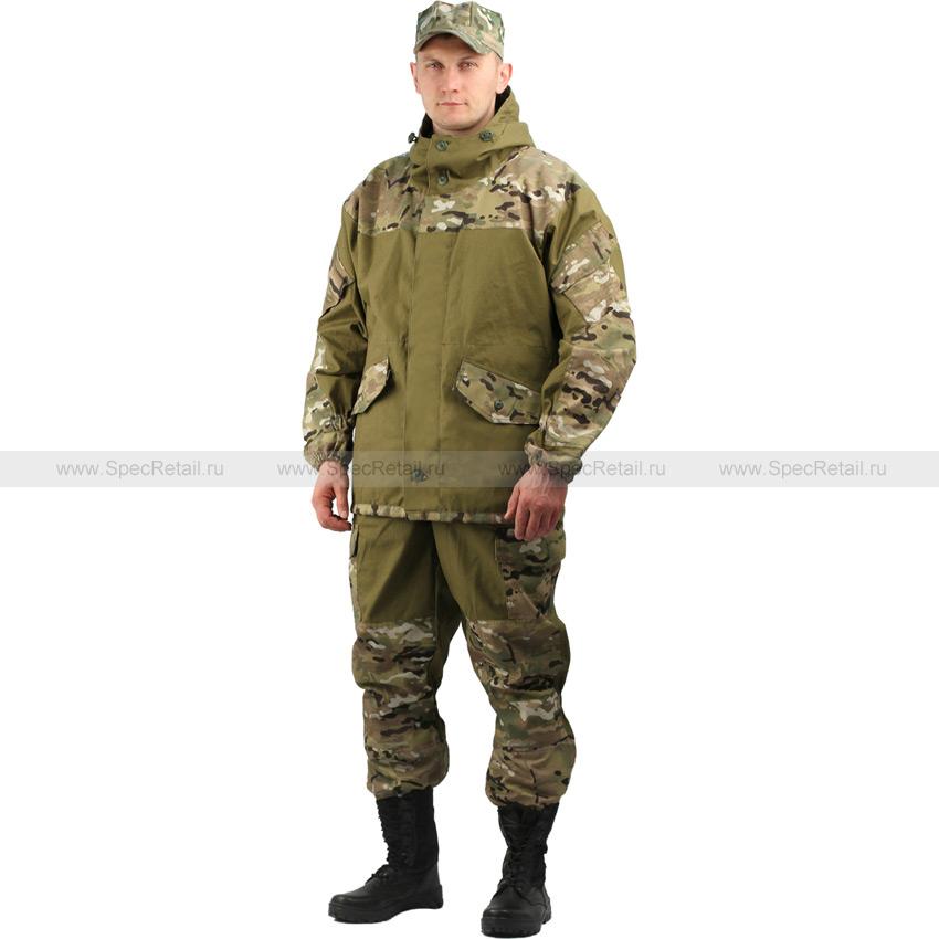 """Костюм мужской """"Горка 3"""", палаточное полотно (Ursus) (Multicam)"""