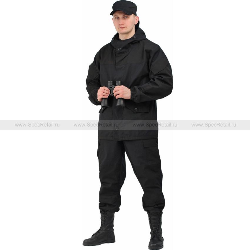 """Костюм мужской """"Горка 3"""", палаточное полотно (Ursus) (Black)"""