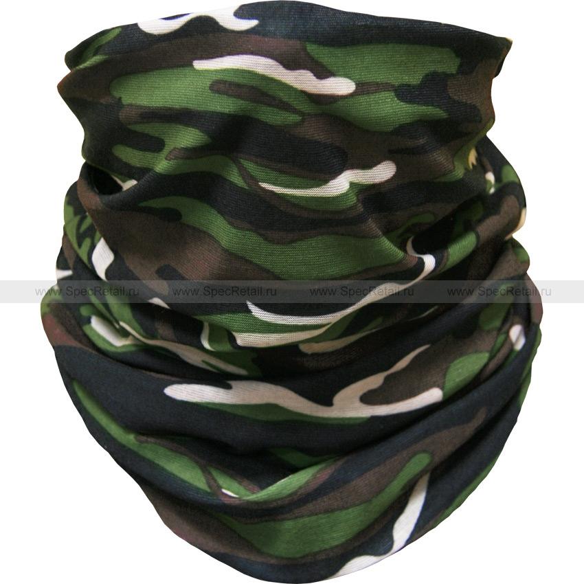 Шарф-маска из микрофибры (Camouflage)