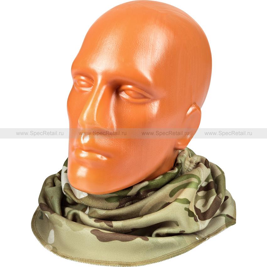 Шарф-нагрудник ВКБО, из флиса (Multicam)