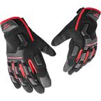 Перчатки защитные (Guardian Spirit) Impact Protection (Black-Red)