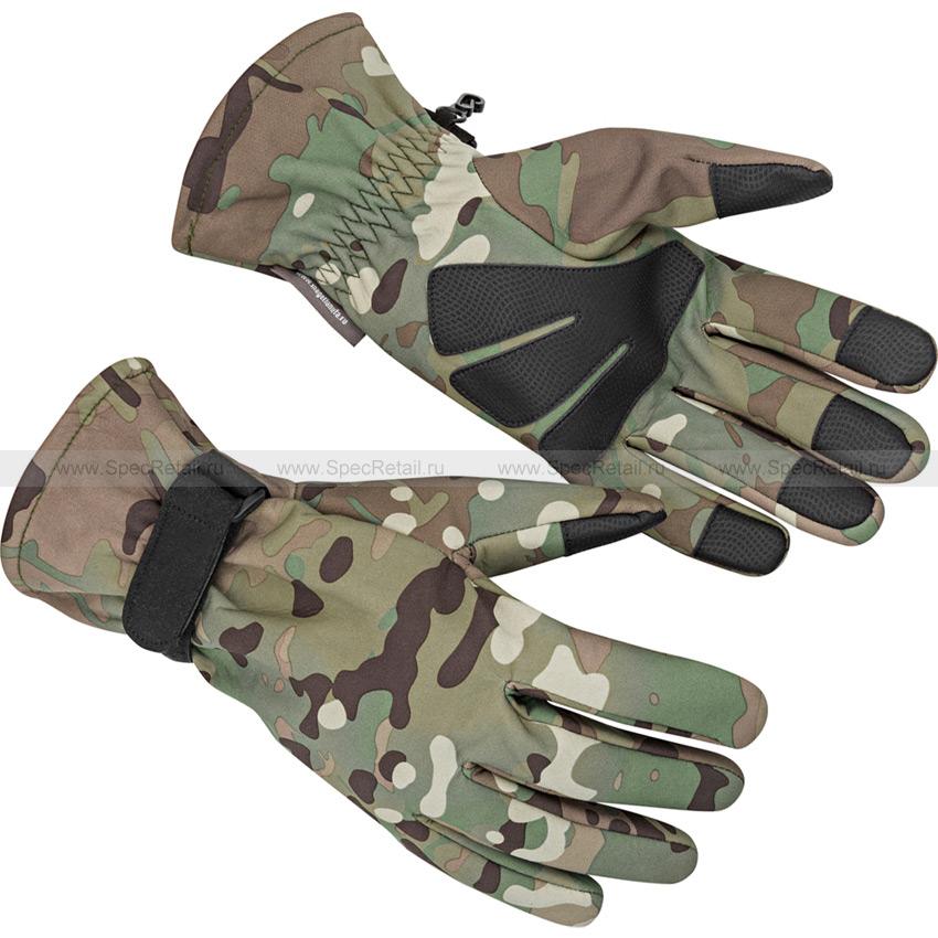 Тактические перчатки МПА-54, тк. Софтшелл (Magellan) (Multicam)