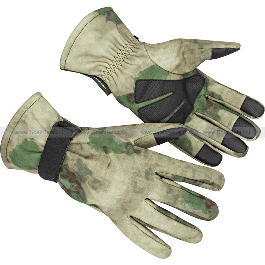 Тактические перчатки МПА-54, тк. Софтшелл (Magellan) (Мох [A-TACS FG])