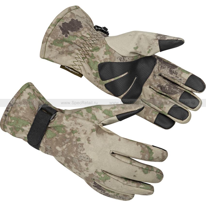 Тактические перчатки МПА-54, тк. Софтшелл (Magellan) (Песок [A-TACS])