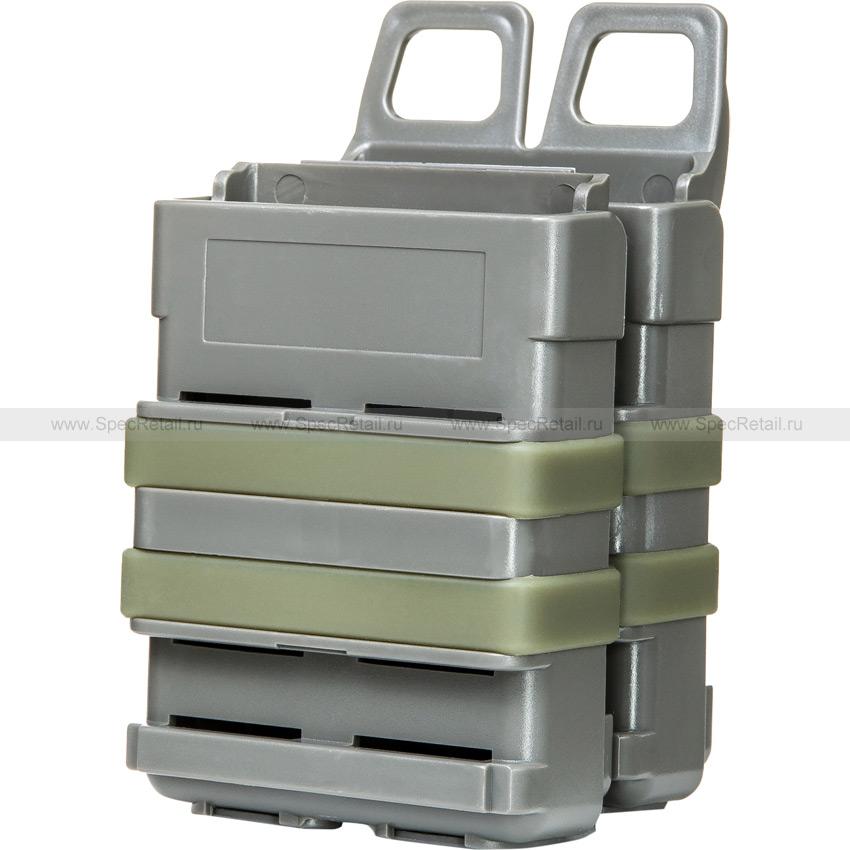Подсумок FastMag Double под патрон 5.56 (Olive)
