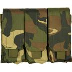 Подсумок для магазинов M4/M16 тройной (Woodland)