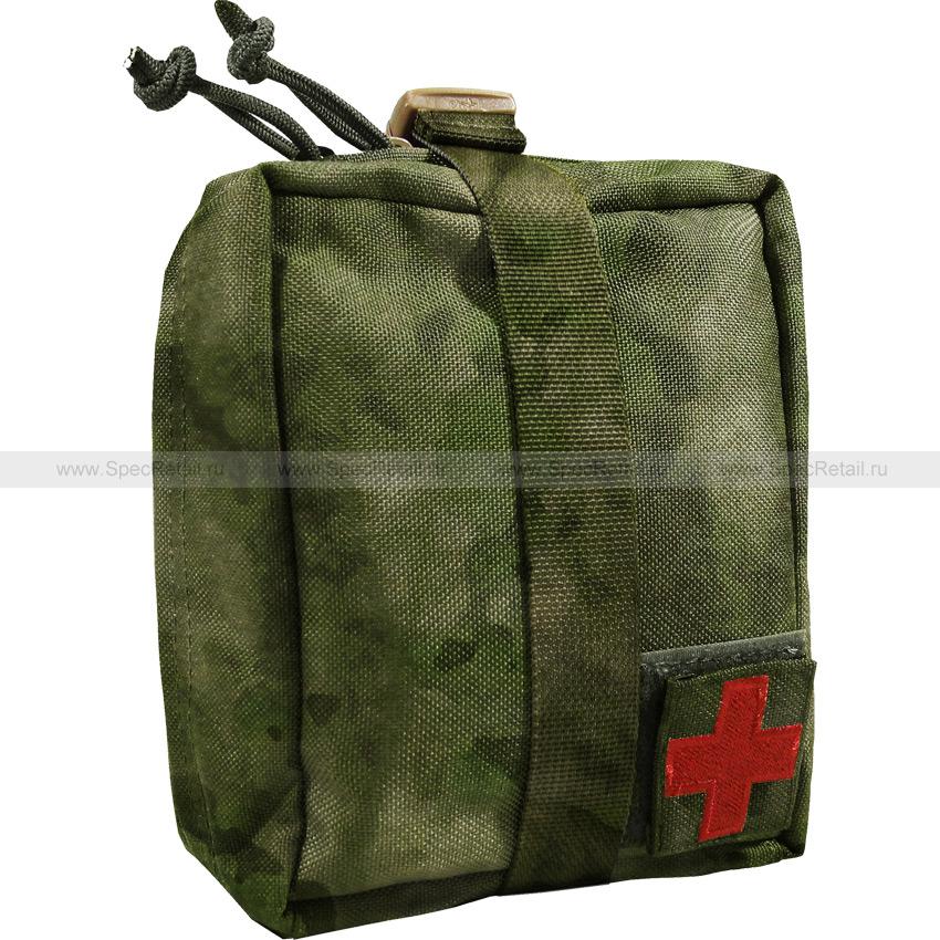 Подсумок под аптечку отрывной (WARTECH) (A-TACS FG)