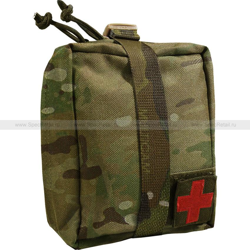 Подсумок под аптечку отрывной (WARTECH) (Multicam)