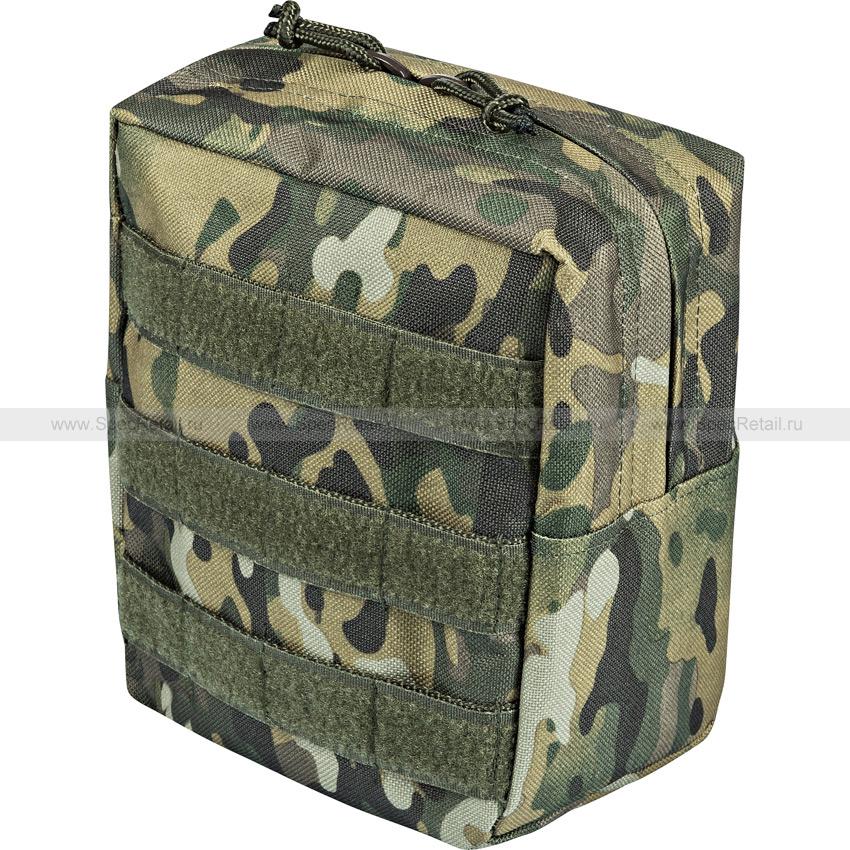 Подсумок утилитарный вертикальный (East-Military) (Multicam)