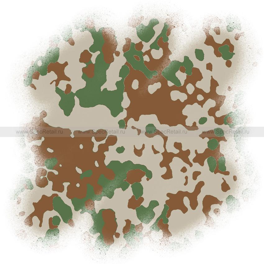 Трафарет для покраски оружия (Hameleon) (Tropentarn/Flecktarn D)