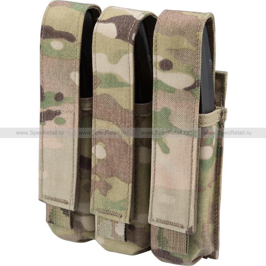 Тройной подсумок под магазины MP5/Витязь (Ars Arma) (Multicam)