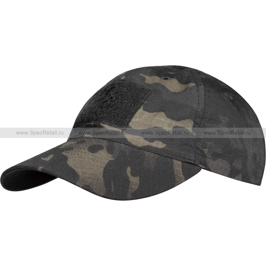 Бейсболка тактическая (Барс) (Multicam Black)