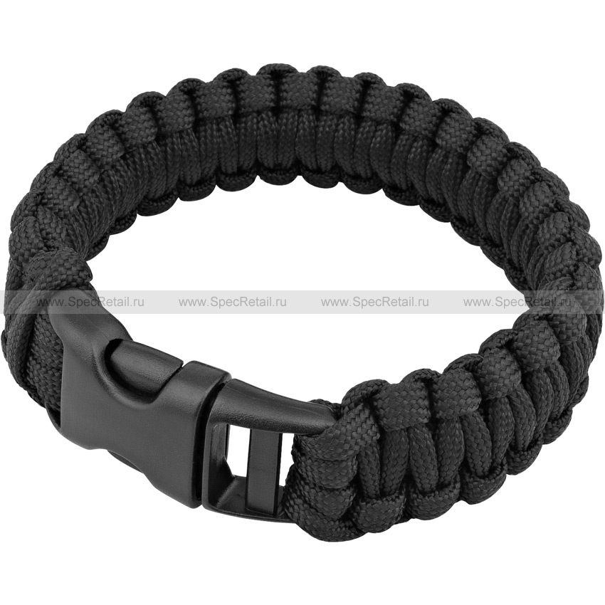 Паракордовый браслет (Tactical PRO) (Black)