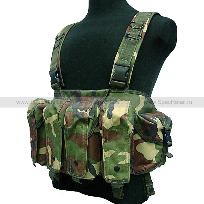 Тактический жилет AK Chest Rig (Woodland)