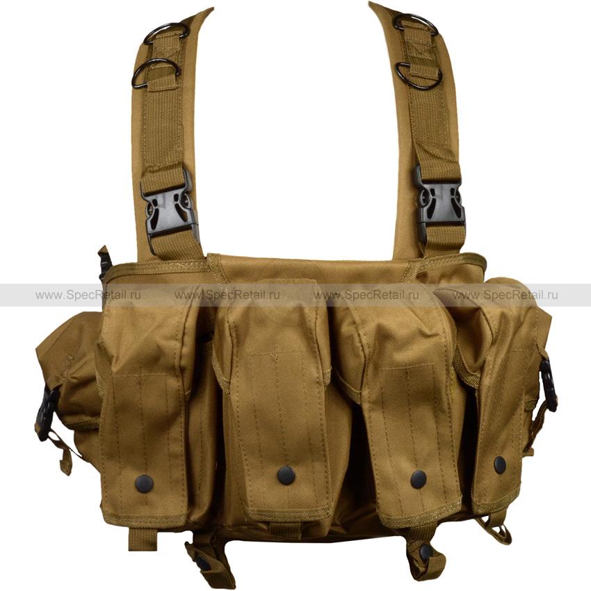 Тактический жилет AK Chest Rig (Coyote Brown)