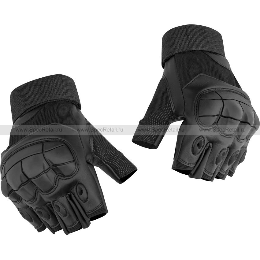 Перчатки Gladiator, беспалые (Black)