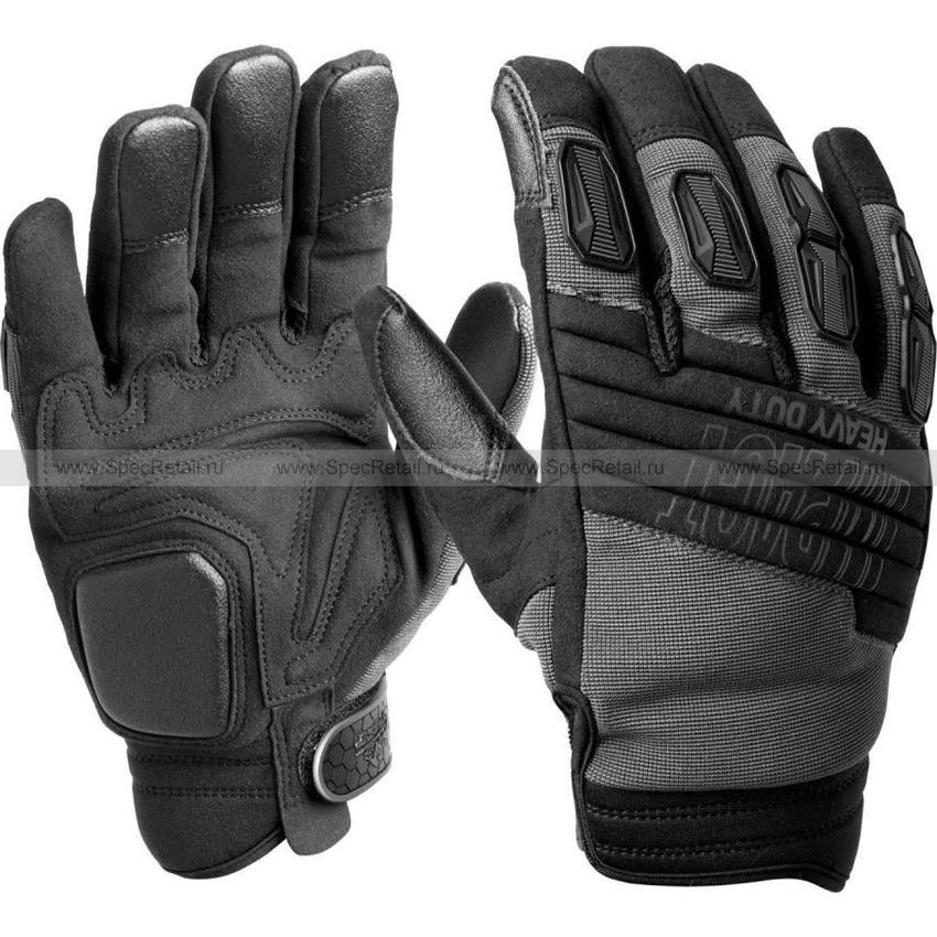 Тактические перчатки IHD (Helikon-Tex) Heavy Duty (Black)
