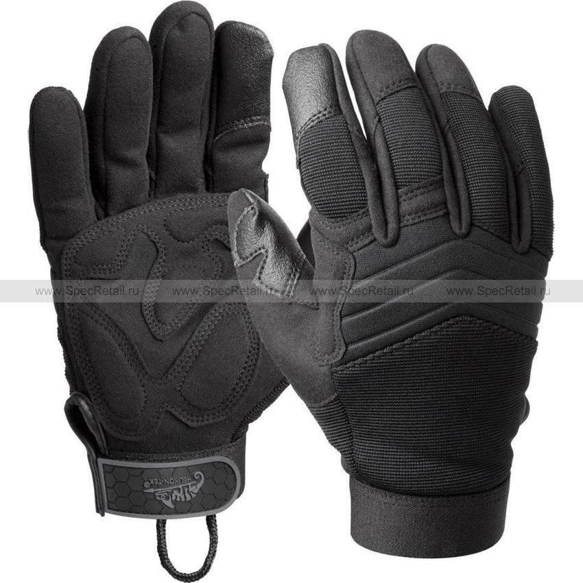 Тактические перчатки USM (Helikon-Tex) (Black)