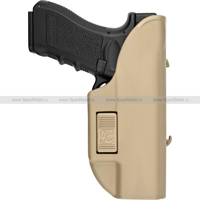Кобура Альфа для Glock с креплением на MOLLE (Stich Profi) (Coyote Brown)