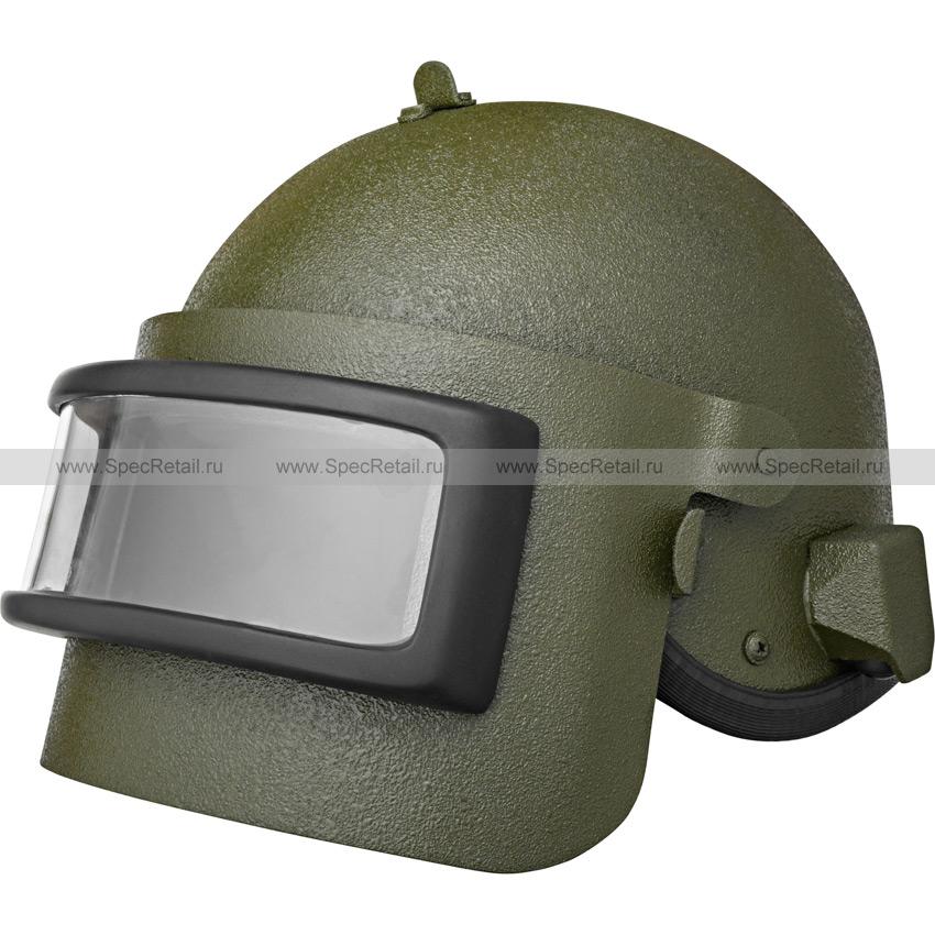 """Шлем """"Алтын"""" с визором (BASTION) (реплика) (Olive)"""