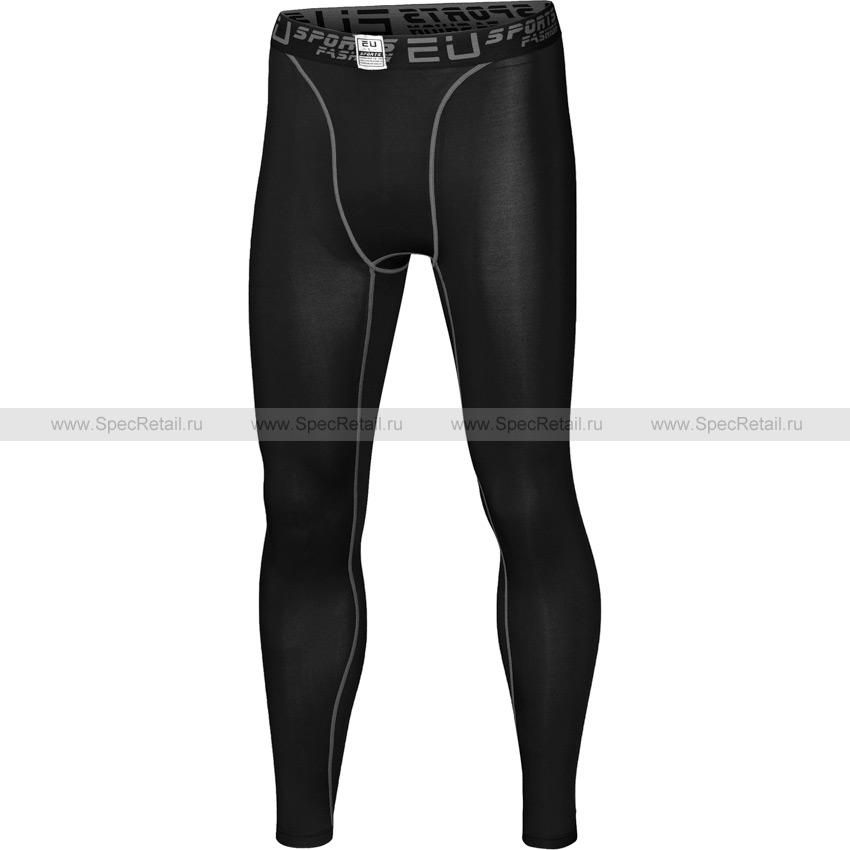 Штаны облегающие Pro Sports (Black)