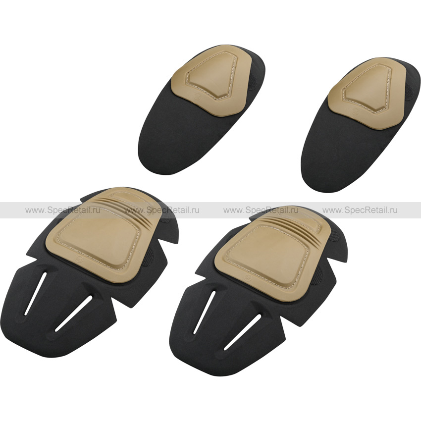 Защита для колен и локтей Flex Set (Tan)