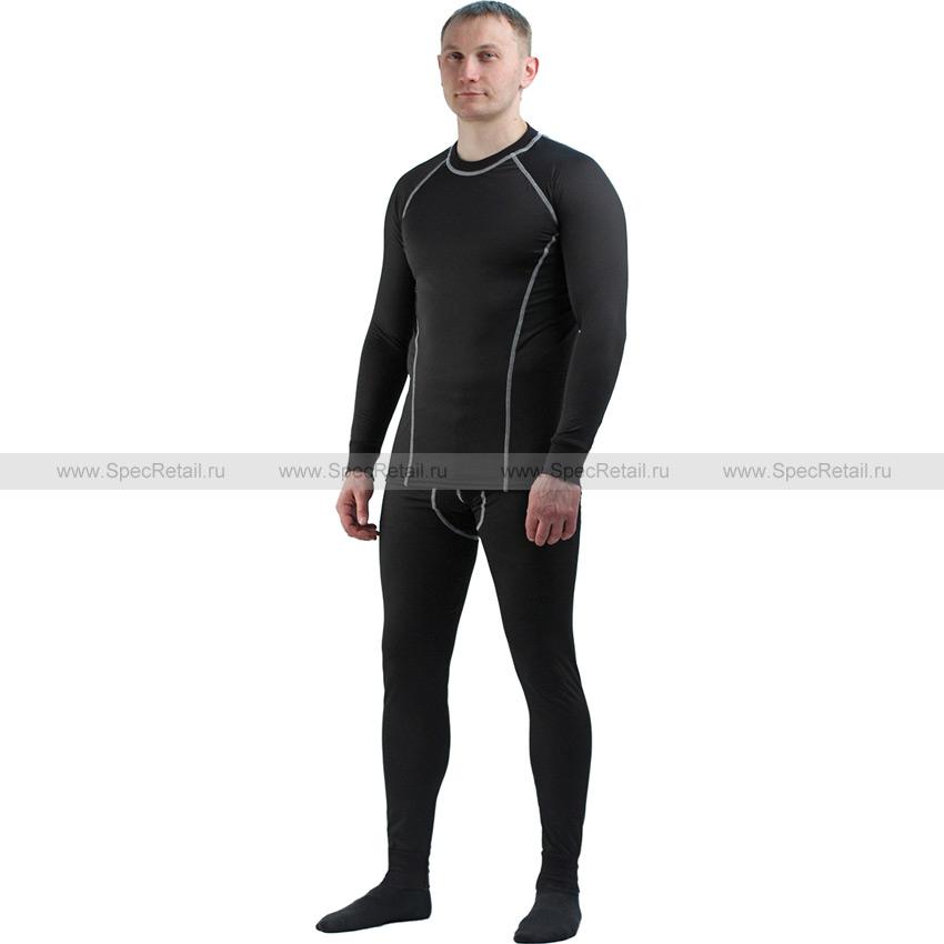 Термобелье (футболка кальсоны) EcoDry Hobo Pro (Ursus) (Black)