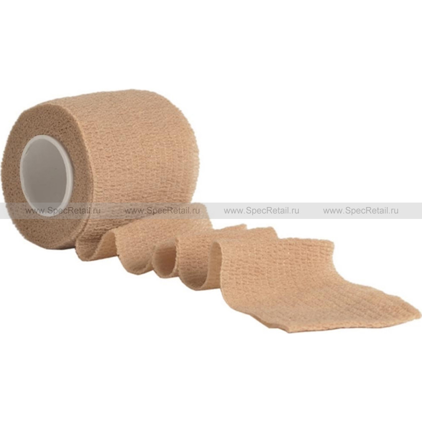 Самоклеящаяся камуфляжная лента, 5см х 4,5м (Coyote Brown)
