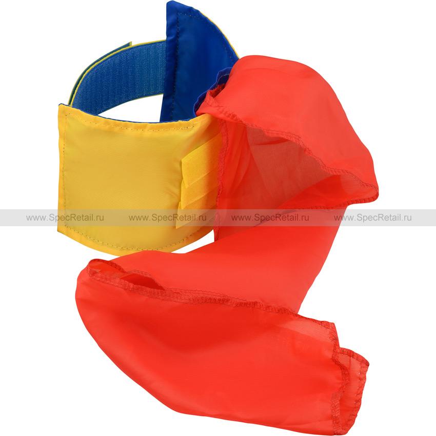 Повязка нарукавная, двухсторонняя (Желтая-синяя)