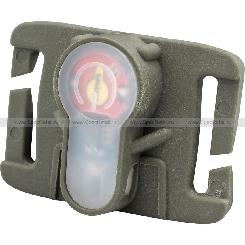 Сигнальный маячок (красный свет) с креплением на MOLLE (FMA) (Olive)