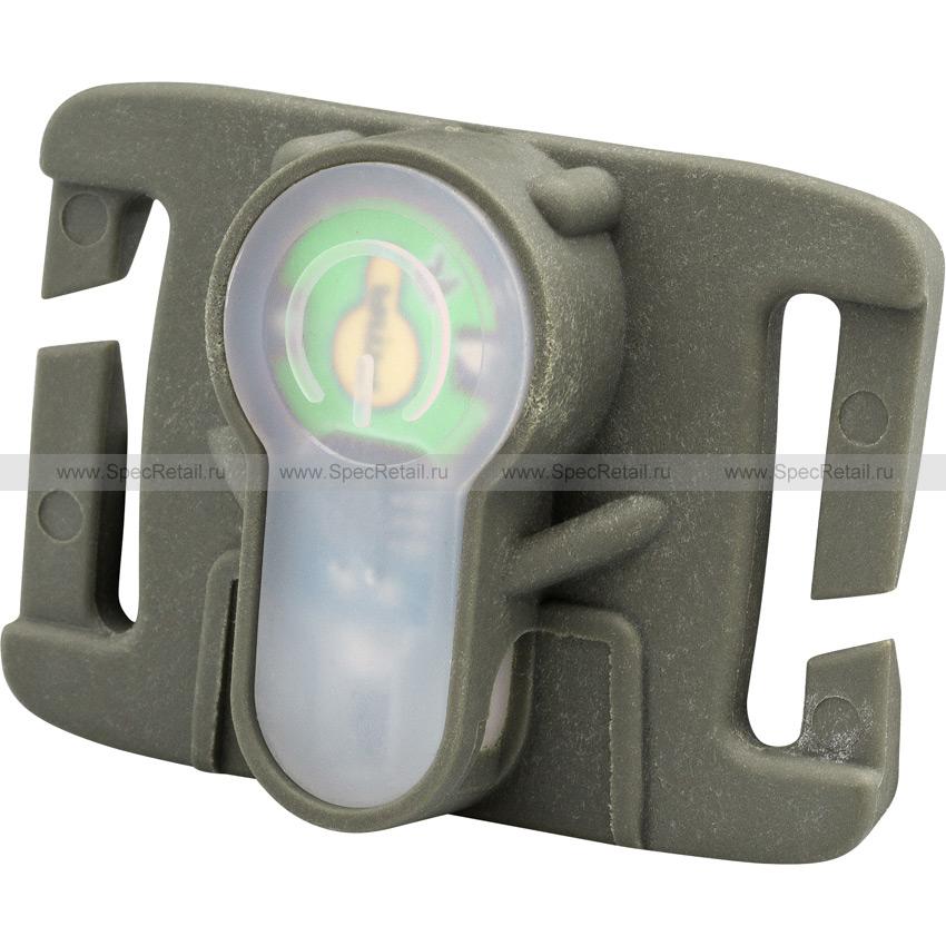 Сигнальный маячок (зеленый свет) с креплением на MOLLE (FMA) (Olive)