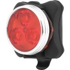 Сигнальный фонарь (красный свет) с клипсой (Black)