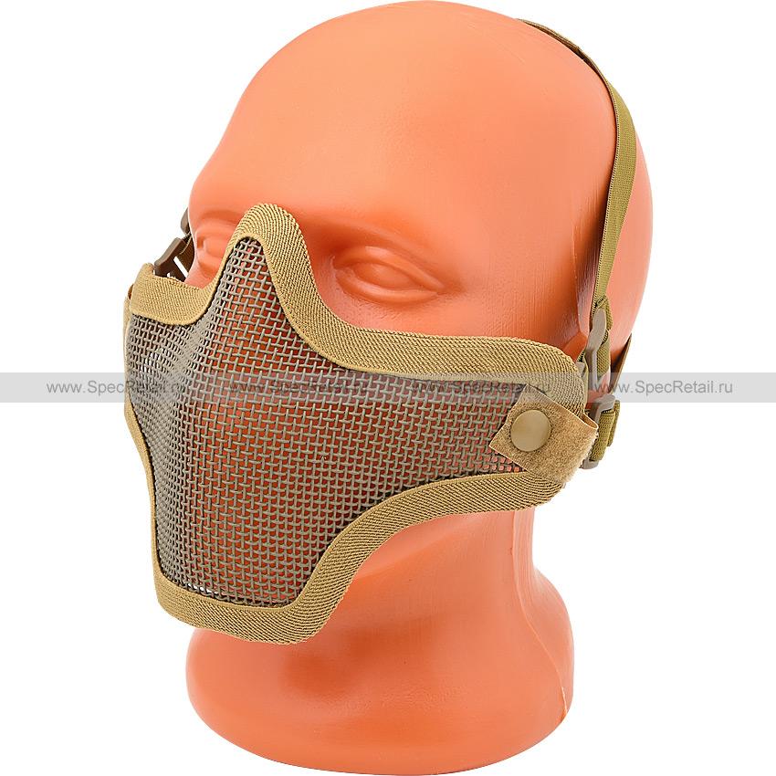 """Страйкбольная маска """"Лидер"""" (Tan)"""