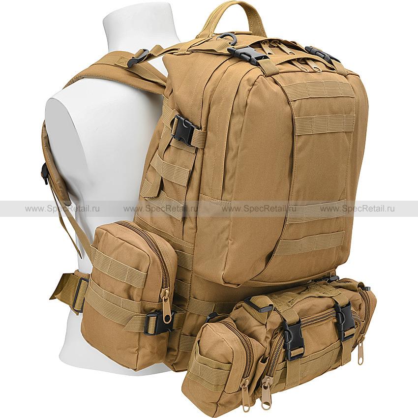 "Тактический рюкзак ""3 Day Assault Tactical Backpack"" 50 литров (Tan)"