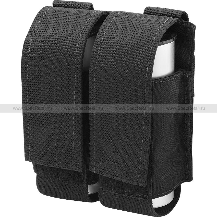 Подсумок для двух гранат 40 мм (Ars Arma) (Black)