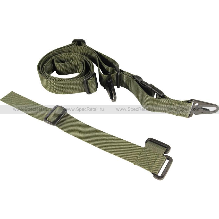 Ремень оружейный трёхточечный (WARTECH) (Olive)