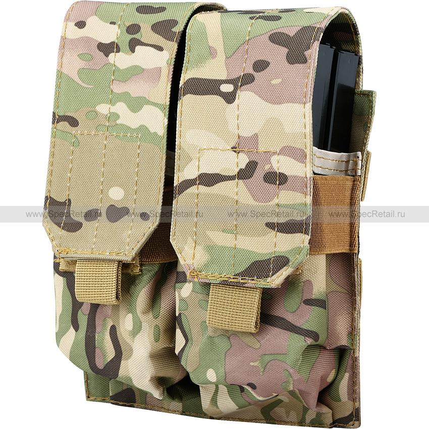 Подсумок для магазинов M4/M16, двойной (Multicam)