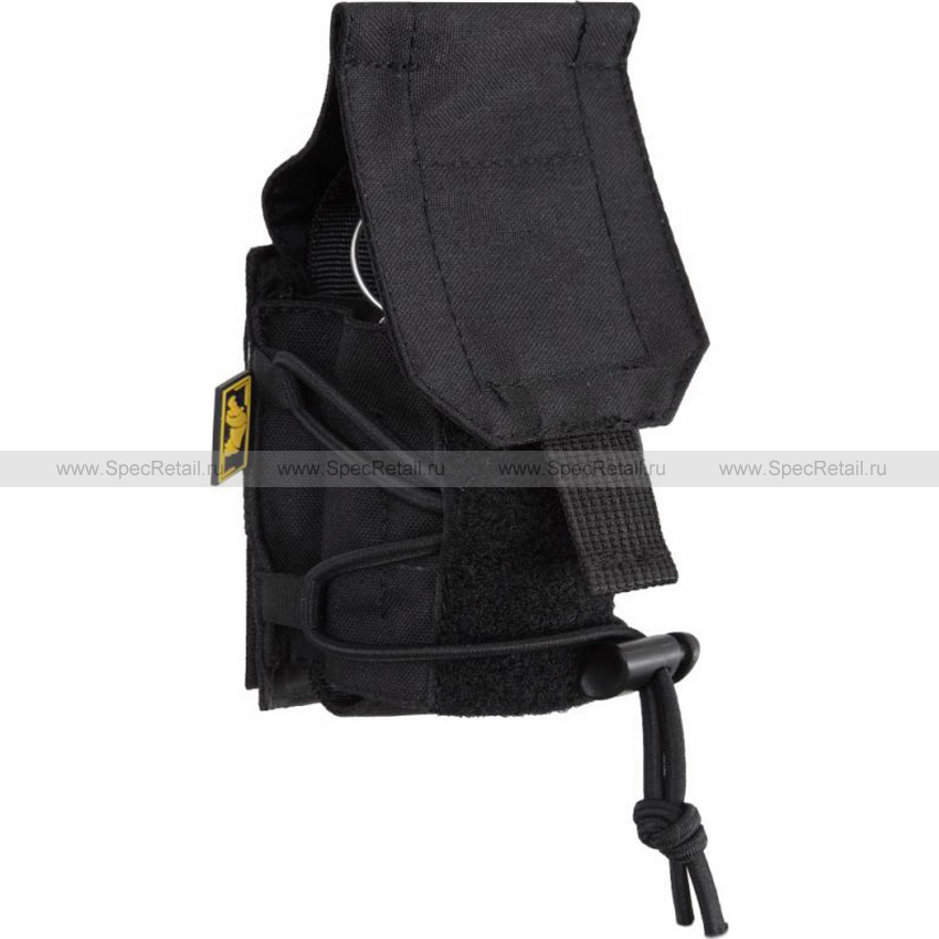 Подсумок под гранату (подвижный клапан) (АНА) (Black)