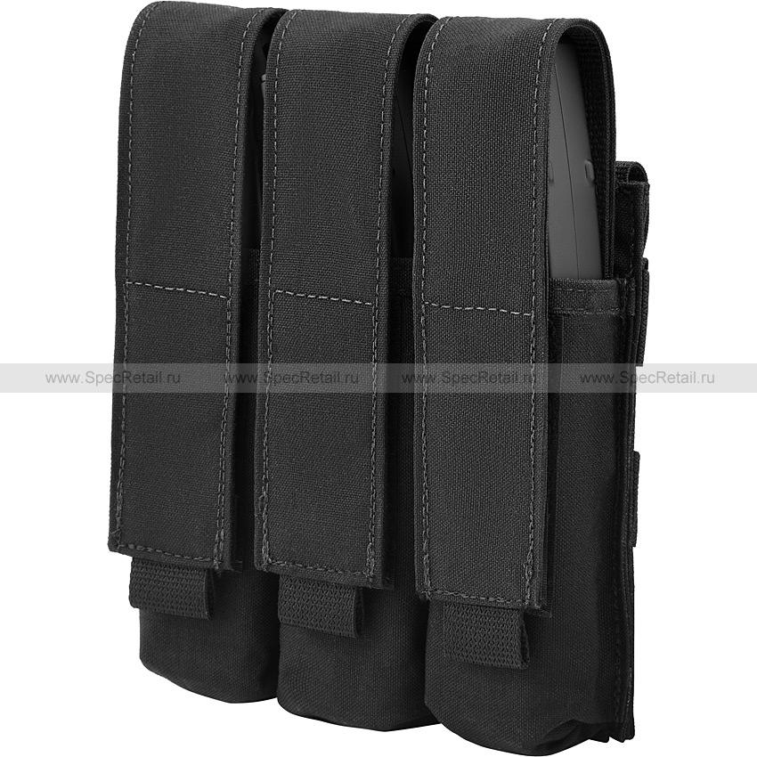 Тройной подсумок под магазины MP5/Витязь (Ars Arma) (Black)