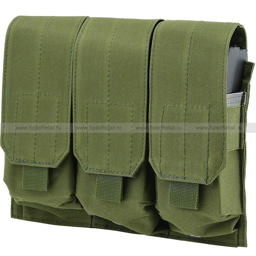 Подсумок для магазинов M4/M16, тройной (Olive)