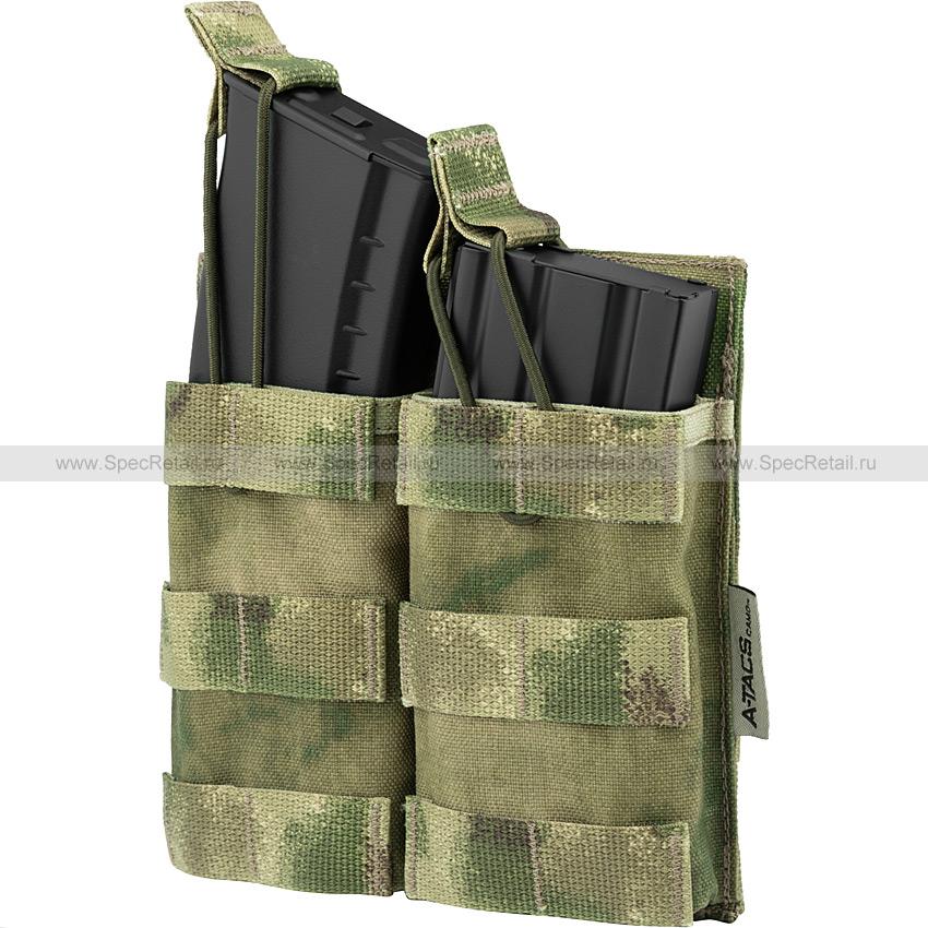 Подсумок под 2 магазина АК или M4, быстрый доступ (Ars Arma) (A-TACS FG)