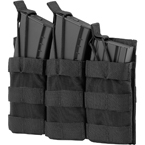 Подсумок на 3 магазина АК или M4, быстрый доступ (Ars Arma) (Black)