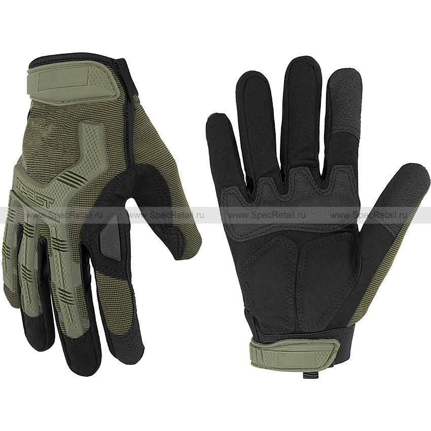 Тактические перчатки M-Pact Gloves (Olive), реплика
