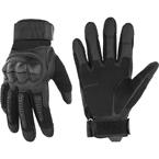 Тактические перчатки с пальцами (Black)
