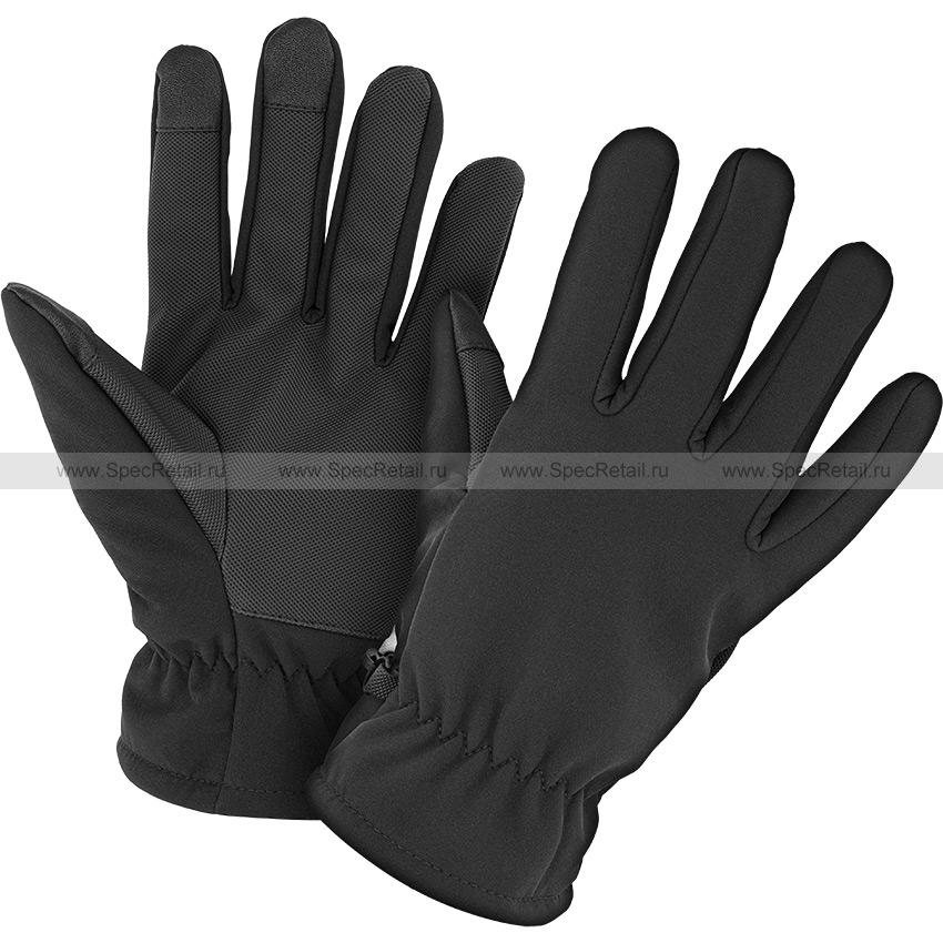 Перчатки софтшелл Thinsulate (Mil-Tec) (Black)